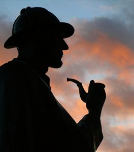 razonamiento deductivo de Sherlock Holmes