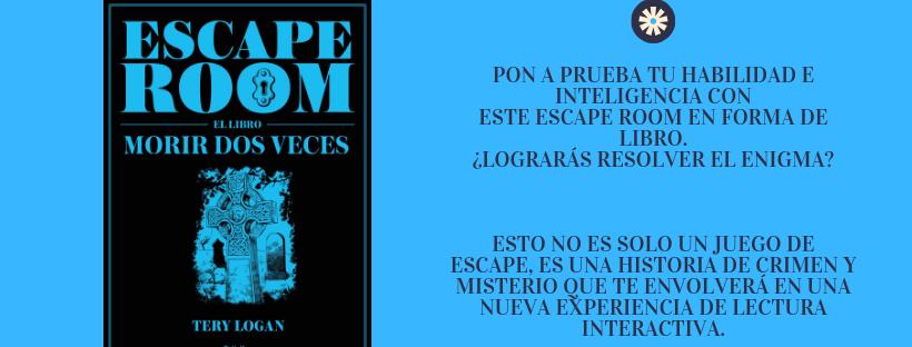 libros de escape room